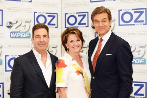 Dr. barr with Dr. Oz